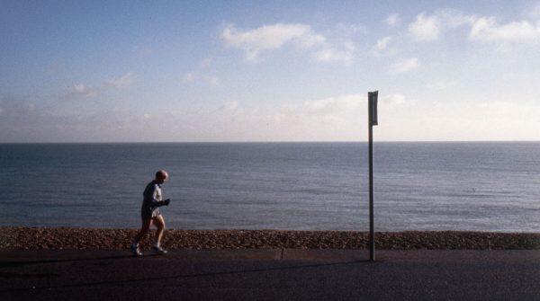 Runner on Deal Beach
